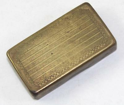 Vintage Gillette Safety Razor Blade Case Vault Bank Blade Holder