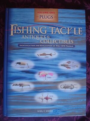 Fishing Tackle Antiques and Collectibles Volume One Plugs Book