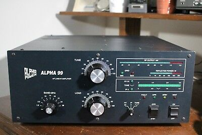 ALPHA 99 High Performance Linear Amplifier with extras