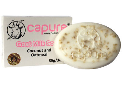 Goat Milk Soap with Coconut and Oatmeal