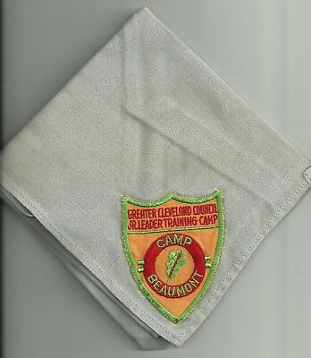 Camp Beaumont JLT Neckerchief - Greater Cleveland Council - Ohio OH