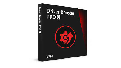 Driver Booster 6 PRO | 3 PCs - 1 Year License. ESD