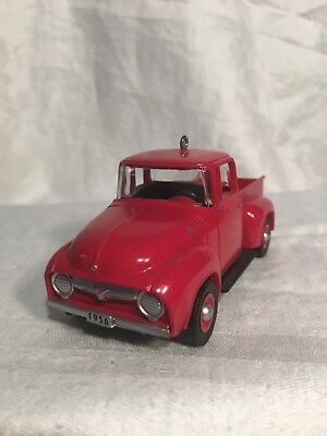 QX6105 HALLMARK KEEPSAKE '1956 Ford Truck, ALL-AMERICAN TRUCKS #1, 1997