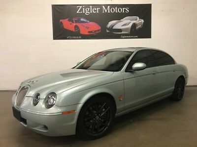 2007 Jaguar S-Type R V8 Supercharged 400hp R Performance Tune Suspens 2007 Jaguar S-TYPE 83,605 Miles