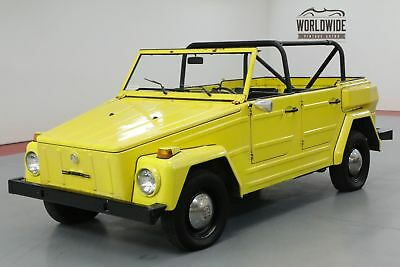 1974 Volkswagen Thing Collector Convertible! Dry Wy Car. Driver!