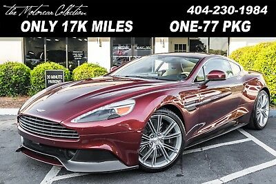 2014 Aston Martin Vanquish  2014 Aston Martin Vanquish Only 17K Miles 1-Owner Clean CarFax Certified