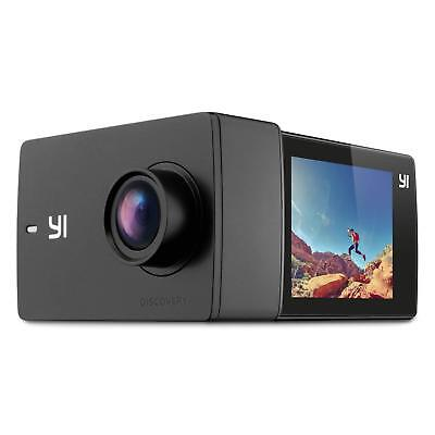 """YI Discovery Action Camera 4K Sports Cam with 2.0"""" Touchscreen Wi-Fi Wide Angle"""