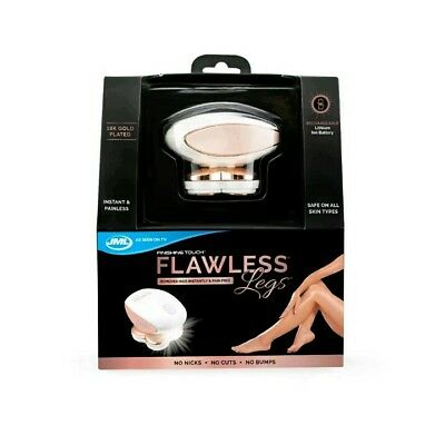 JML Finishing Touch Flawless Legs 18K Gold-Plated Rechargeable Leg Shaver Xmas