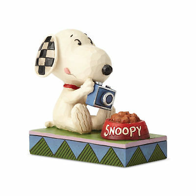 Jim Shore Peanuts Foodie Snoopy Canine Connoisseur 6001292 New 2018