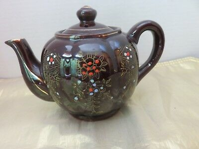 Vintage Teapot Hand Painted Made In Japan