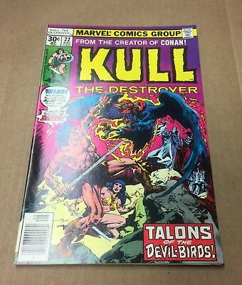 KULL the CONQUEROR #22 1977 NM- 9.2 Stunner! Conan Red Sonja Marvel Comics