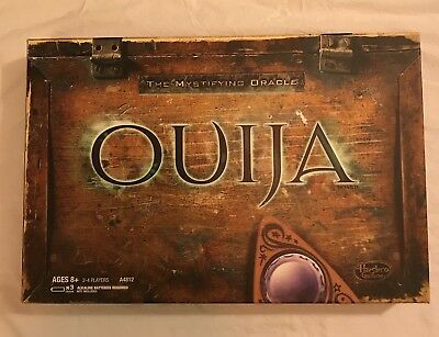 Ouija Classic Board Game Communicate w/Spirits Ghosts Planchette Mystery Hasbro