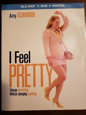 I Feel Pretty (Blu-ray/ DVD,  2018, No Digital code) Amy Schumer