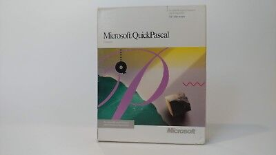 "Microsoft QuickPascal Compiler 5.25"" disk version"