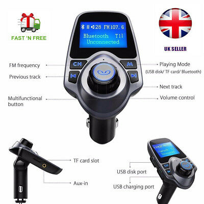 T11 FM Transmitter Car Mp3 Player Bluetooth Hands free f0r iphone,Huawie,samsung