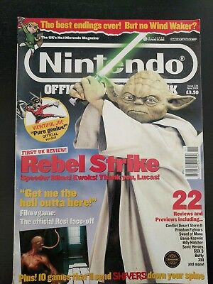 Nintendo Official Magazine Issue 134 Nov 2003