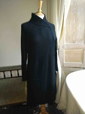 *SERAPHINE* maternity black long cardigan size 3