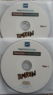 Timothy Sykes Tim Raw DVD Millionaire Trading Challenge