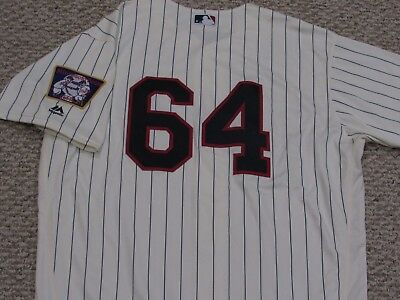 0c84cf37e17c5c ROSARIO size 48 #64 2017 Minnesota Twins game jersey issued Home Cream MLB  HOLO