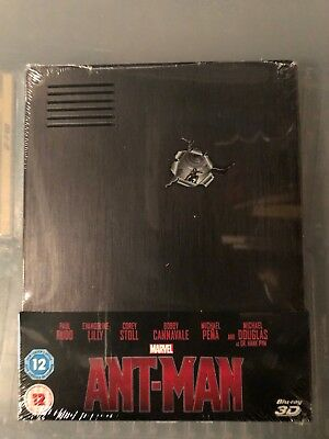 Ant Man 3D Blu Ray Steelbook. New and Sealed.