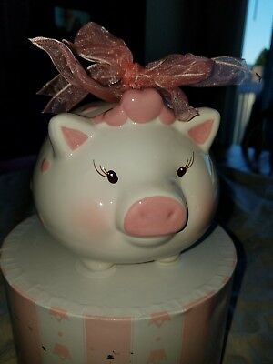 Mud pie piggy bank