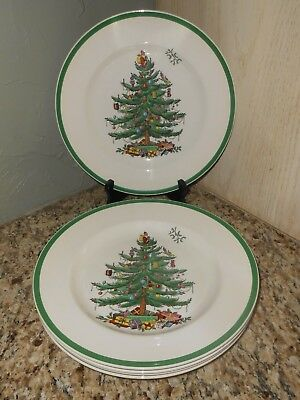 "Spode England Christmas Tree S3324 Dinner Plate 10.5"" Excellent Condition"