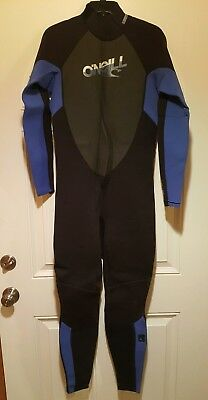 b17e387fc9 O NEILL REACTOR 3 2 mm back zip full wetsuit - Men s Large -  30.00 ...