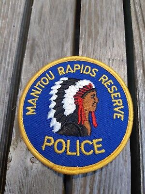 Manitou Rapids Police Patch - obsolete