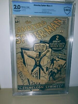The Amazing Spider-man #1 silver age CBCS 2.0 Marvel comics 1963