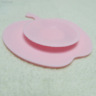 2096 Mew Colorful Useful Random Anti-drop Silicone Eat Sucker Bowl Accessories