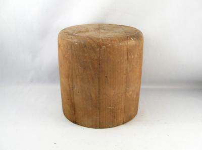 Antique Wooden Hat Mold Block Millinery Form