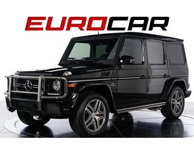 2016 G-Class G63 AMG designo® Exclusive Leather Package, One Owner, California Vehicle