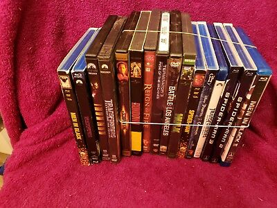 Pirates of the Carribean Blu-ray/DVD Combo's Lot Men in Black Many More Read