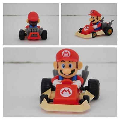 N64 Video Game Mario Brothers Kart Player  Red Car Nintendo