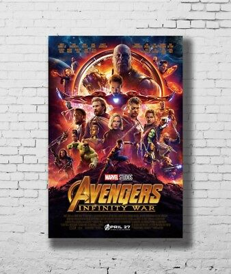 24x36 14x21 40 Poster Avengers Infinity War Movie Art Hot P-1004