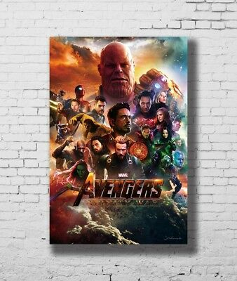 24x36 14x21 Poster Avengers Infinity War Movie Marvel Comics Film Art Hot P-905