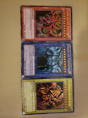Slifer the Sky Dragon,The Winged Dragon of Ra,Obelisk the Tormentor LCO1