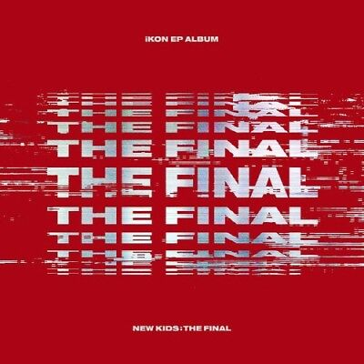 [iKON] ALBUM [NEW KIDS : THE FINAL] Red CD+Poster+PhotoBook+M.Book+Card