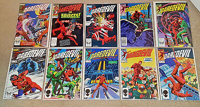 Marvel Daredevil Lot 201 - 210 NM Excellent Condition Free Shipping