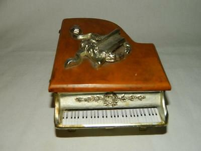 "Vintage Thorens Grand Piano Music Box Made In Switzerland ""Try To Remember"""