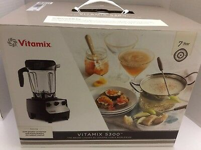 NEW _Vitamix 5300 Blender .  - BLACK-FAST SHIPPING!