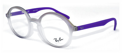91eadd402ce New Authentic Ray Ban Frame Rb7075 5600 Matte Violet-Frost Gradient 47-20-