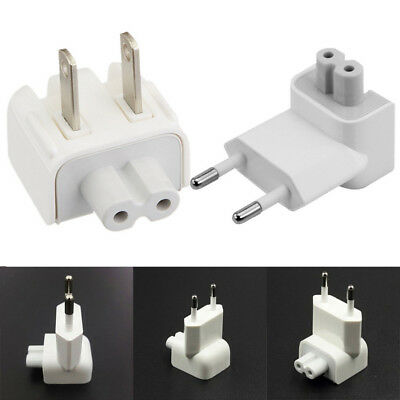 EU US AC Power Wall Plug Duck Head For Apple MacBook Pro Air Adapter PC Charger