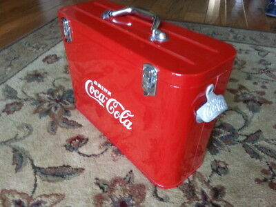Coca Cola Airline Cooler---Very Nice !!