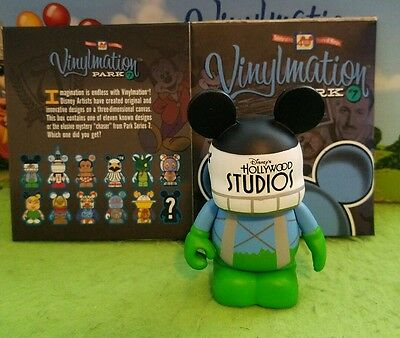 "DISNEY Vinylmation 3"" Park Set 7 Earful Tower Hollywood Studios with Box"