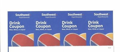 4 Southwest Drink Coupons Expire 12-31-2018