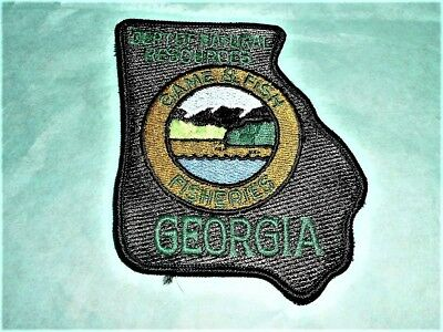 Obsolete Georgia Dept.of Natural Resources Game & Fish FISHERIES Patch