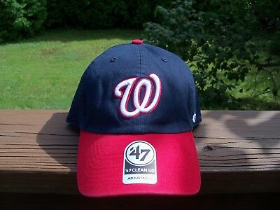 brand new 8801d 1f7ef ... clearance mlb washington nationals 47 forty seven brand adjustable hat  size one size 81ae9 5a971