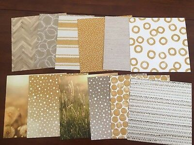 """stampin up 12 x serene scenery designer series paper 6""""x6"""" double sided (set 1)"""