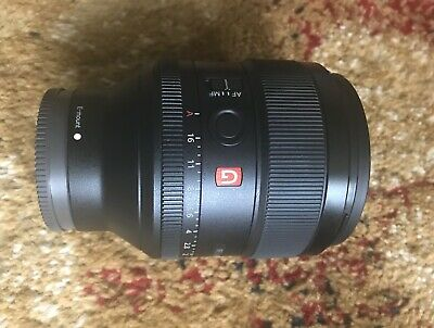SONY FE 85mm F1.4 GM SEL85F14GM